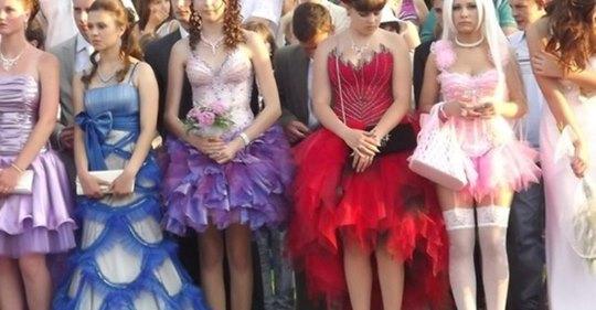 Пугающая эволюция платьев на выпускной: не все в этой жизни меняется к лучшему…