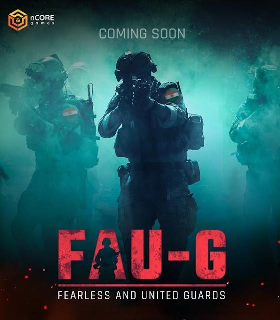 Pubg Mobile Vs FAU-G Game