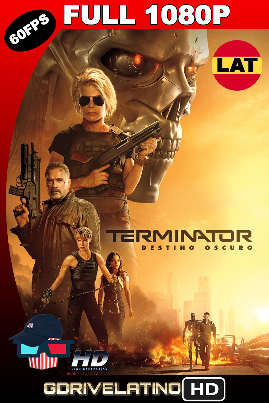 Terminator: Destino Oscuro (2019) BDRip 1080p (60 FPS) Latino-Ingles MKV