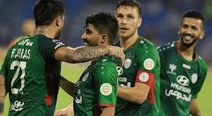 الإتفاق يفوز على نادي الفيصلي في ملعب بثنائية من الدوري السعودي