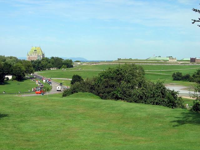 Battlefield Park em Quebec City