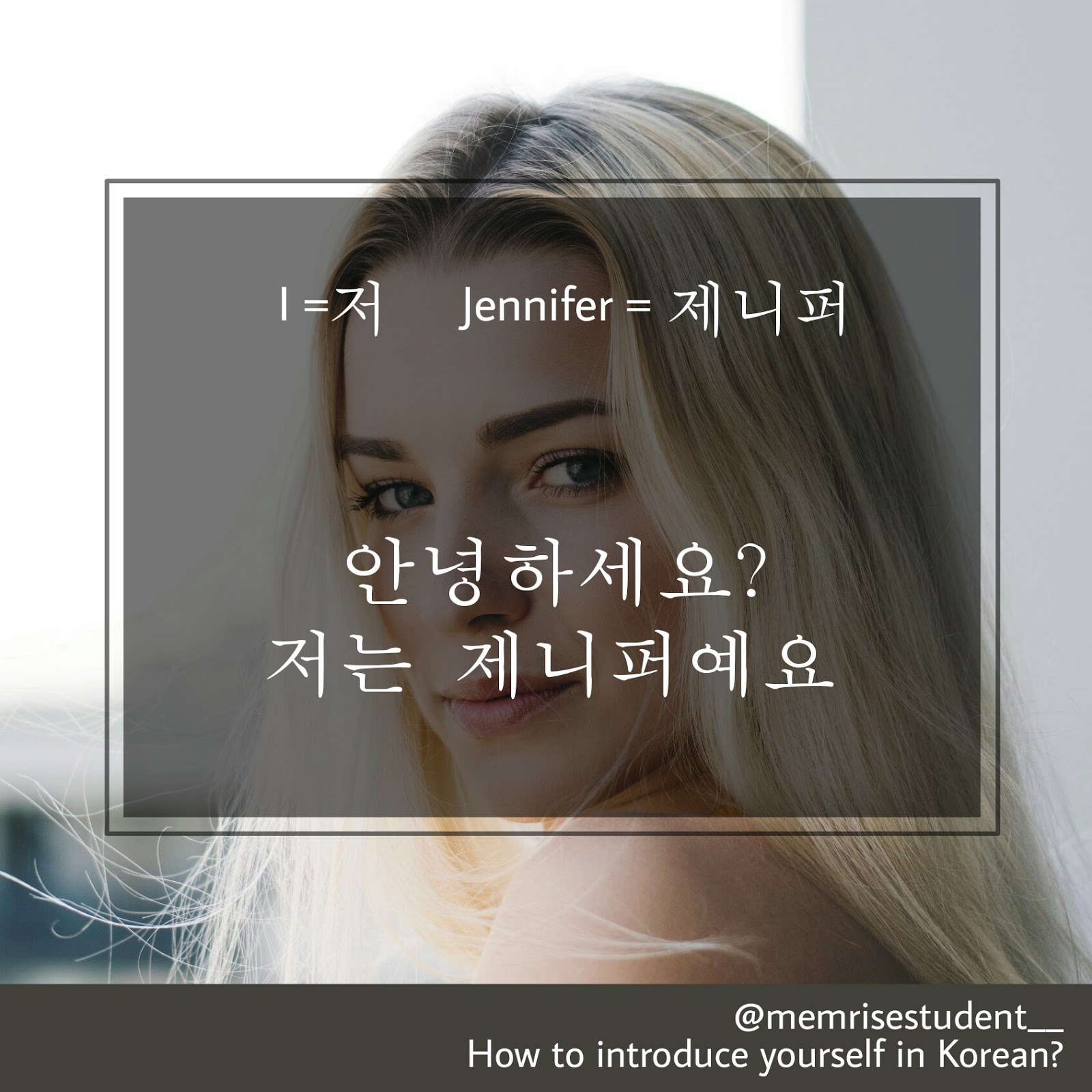 Working in the Korean language