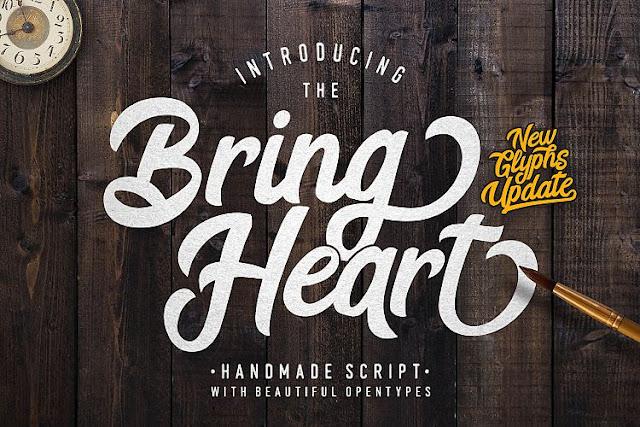 Bring%2BHeart Font Bundles Bring Heart download