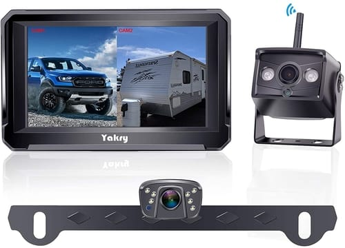 Yakry Y33 1080P Car Wireless Dual Backup Camera