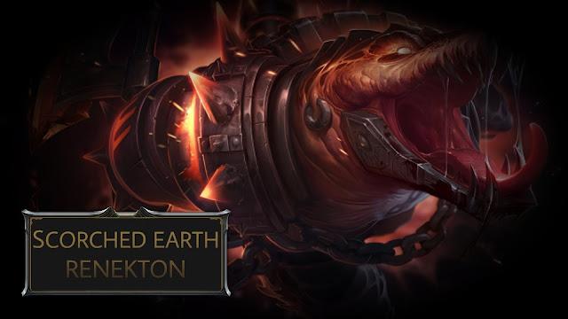 Mod Skin Scorched Earth Renekton