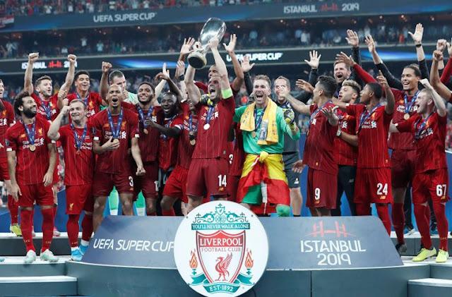 ليفربول يتوج با كأس السوبر الاوربي علي حساب تشيلسي