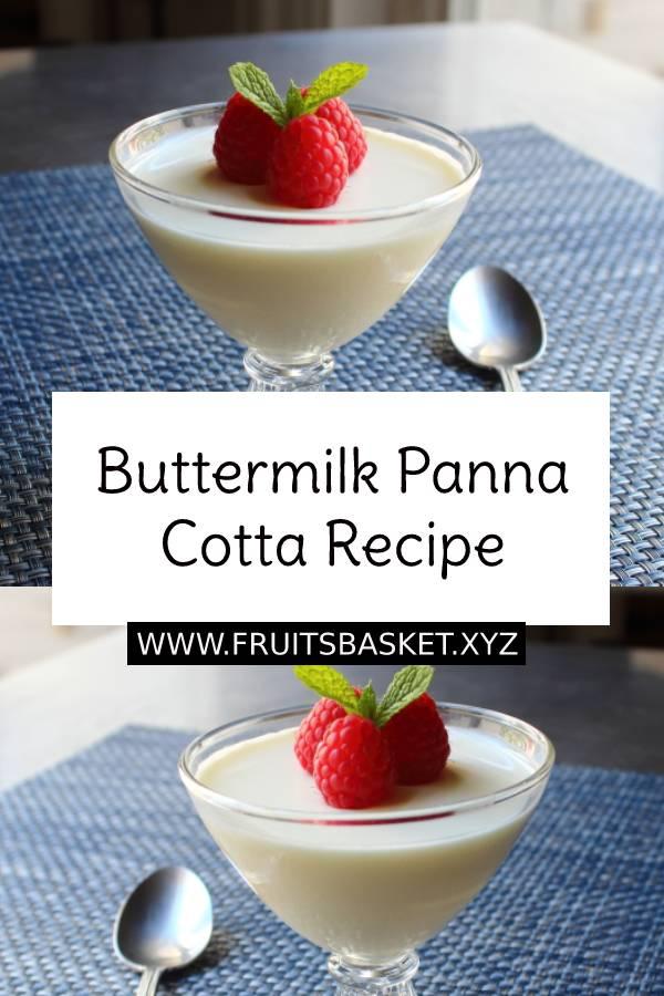 Buttermilk Panna Cotta Recipe – The Magic of Barely Cooked Cream #panna #cotta #pannacotta #buttermilk #dessert #pudding #cookedcream #easydessert #dessertrecipe