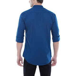 navy blue shirt for men's under 549rs