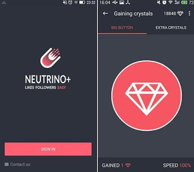 cara menambah followers dengan neutrino