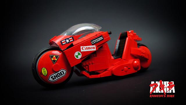 Akira Kaneda Bike in Lego by sariel.pl