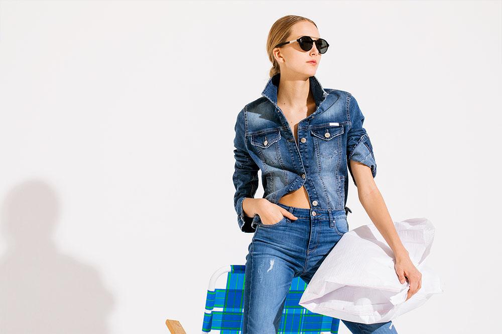 Camperas de jeans verano 2020.
