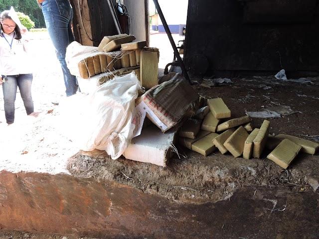 Polícia Civil incinera cerca de nove toneladas de drogas