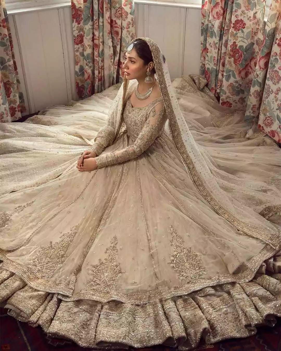 Latest Bridal Photoshoot of Mahira Khan