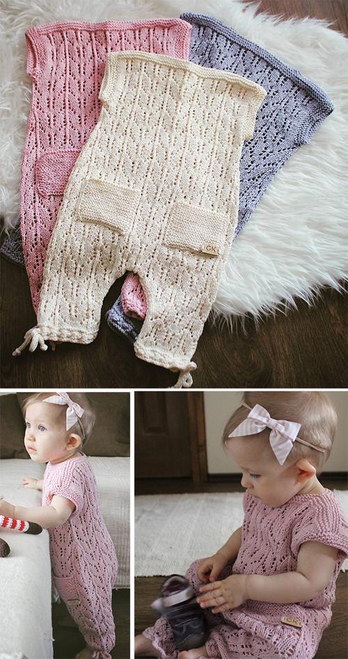 Aurora Baby Romper - Free Pattern