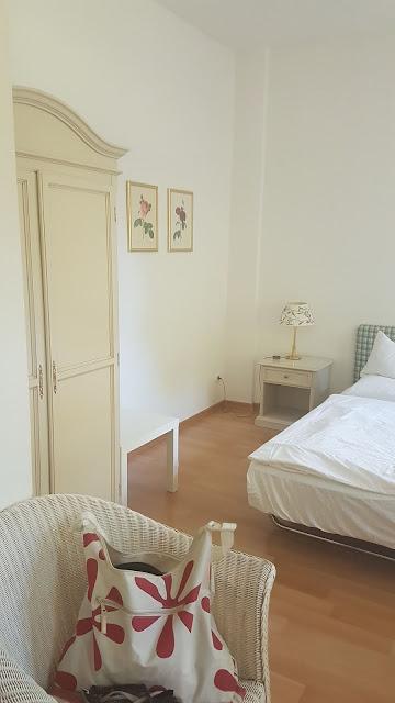 Unser Doppelzimmer im Hotel Schloss Teutschenthal in Teutschenthal (Sachsen Anhalt)