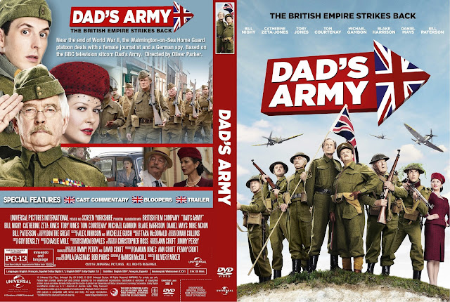 Dad's Army DVD Cover
