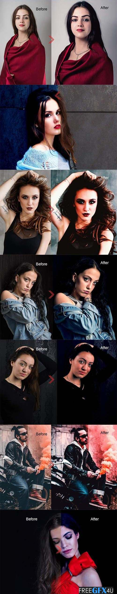 Movie Style Photo Effect Action