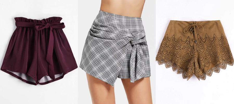 shorts zaful