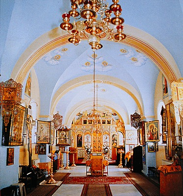 a igreja da caverna de João Batista