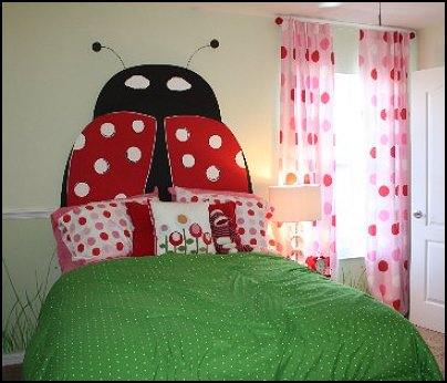 ladybug bedrooms  garden bedroom decorating ideas ladybug home decor ladybug bedding