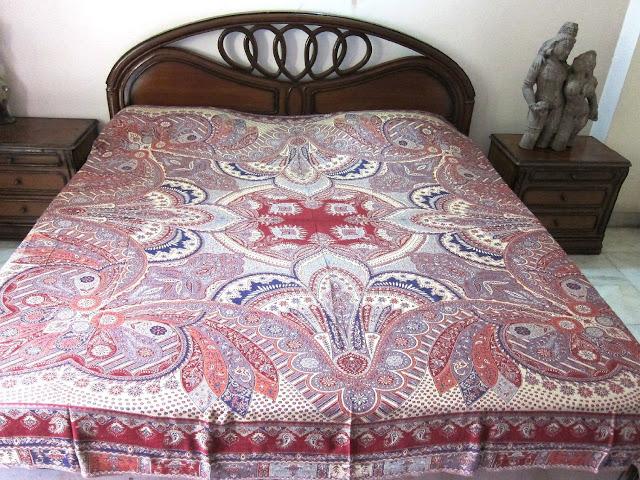 Indian Bedding Bedspread: Bohemian Bedcover Moroccan Bedspread