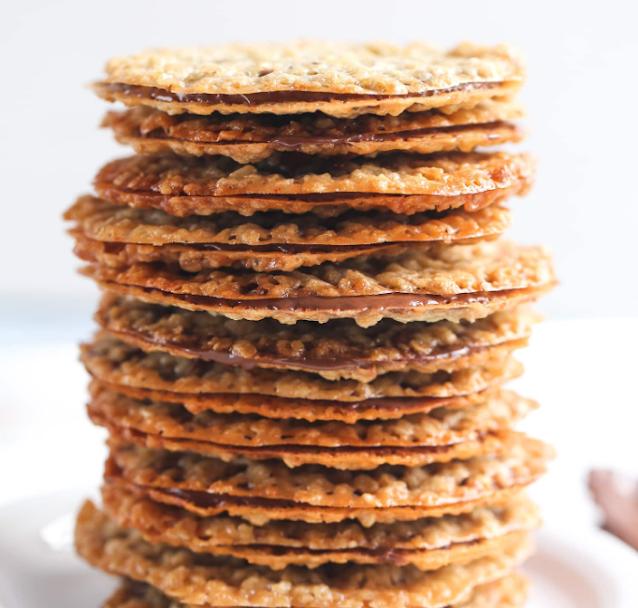 Easy Lace Cookies #easy #cookies