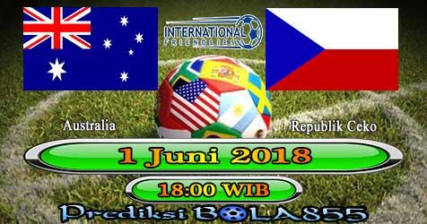 Prediksi Bola855 Australia vs Czech Republic 1 Juni 2018