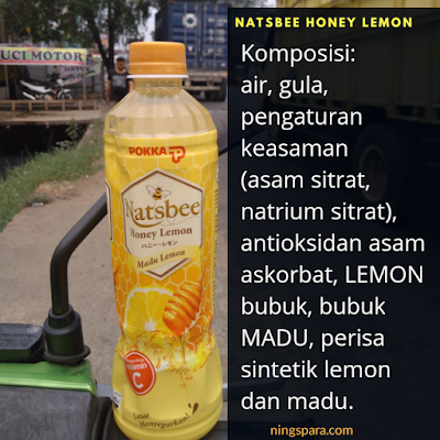 Bersihkan Hari Aktifmu #AsikTanpaToxic dengan NATSBEE Honey Lemon