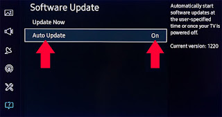 Update the Software of your TV