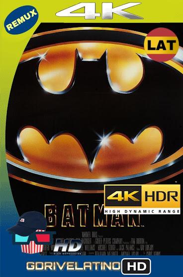 Batman (1989) BDRemux 4K HDR Lat-Cas-Ingles MKV