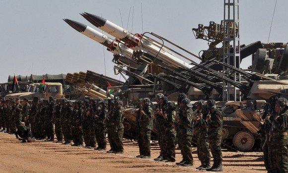 🔴 البلاغ العسكري 113 : الجيش الصحراوي ينفذ عمليات قصف على قوات العدو في قطاع أتزويگي.