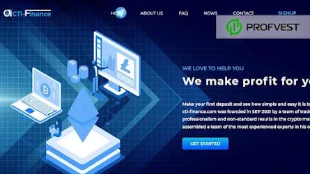 🥇Cti-Finance.com: обзор и отзывы [HYIP СКАМ]