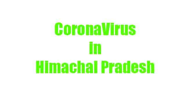 Coronavirus in Himachal Pradesh