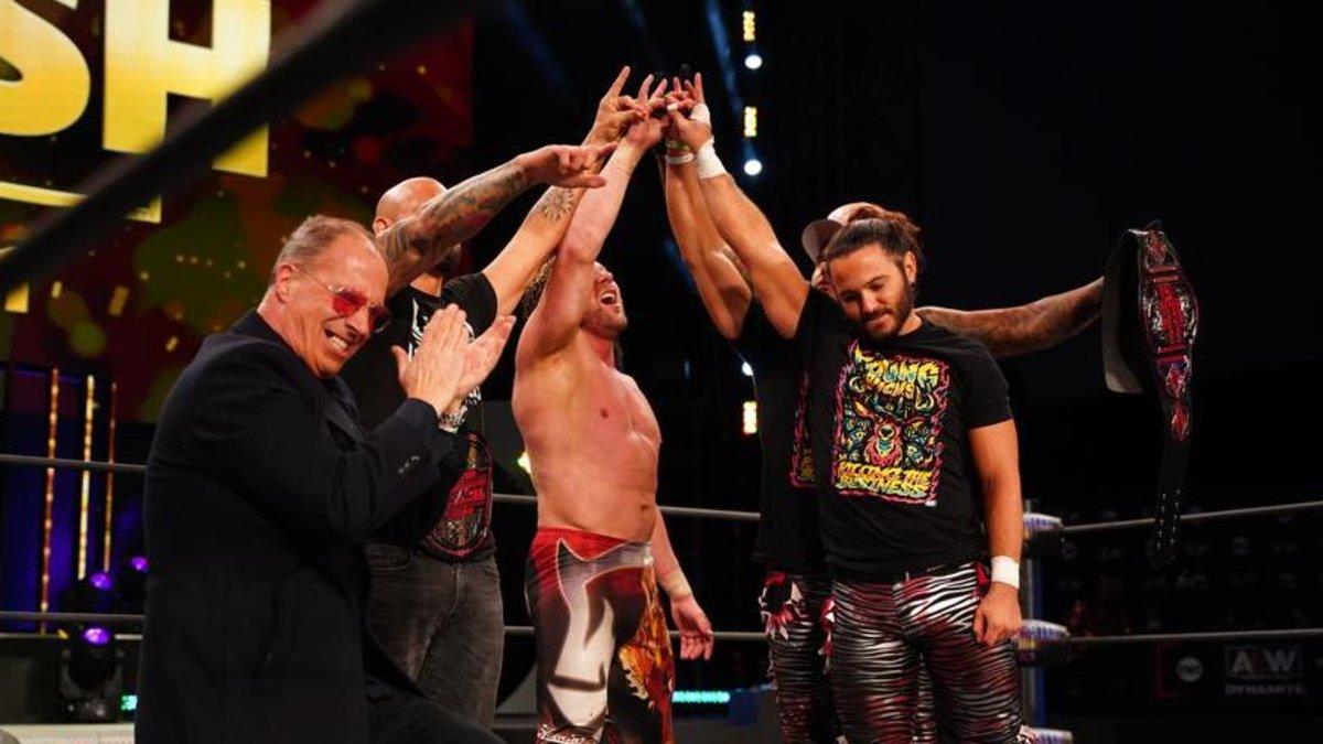 """Tama Tonga: """"A Elite pode chamar essa reunião do que quiser, menos de Bullet Club"""""""