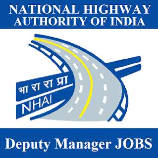 National Highways Authority of India, NHAI, New Delhi, Deputy Manager, Graduation, freejobalert, Sarkari Naukri, Latest Jobs, nhai logo