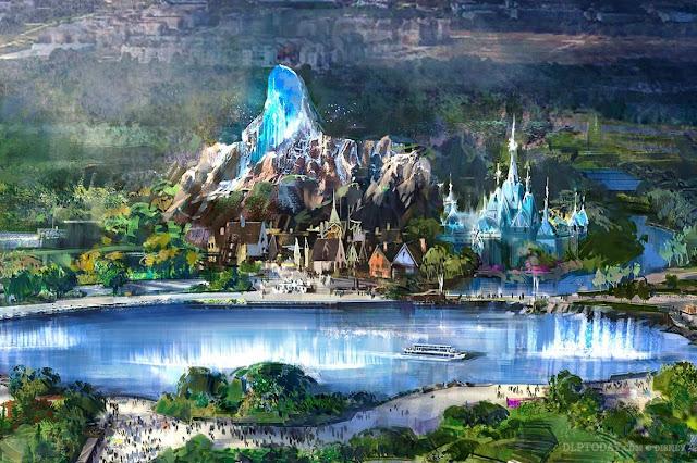 Disneyland Paris Media Expo 2020 Frozen 巴黎迪士尼樂園 魔雪奇緣