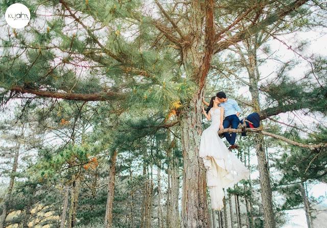 Đuổi kịp xu hướng 2017 - ảnh cưới trên đồi