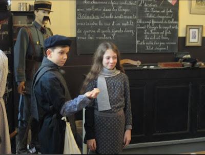 Voyage dans le temps : la salle de classe 1917.