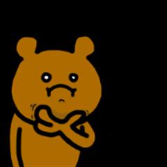 I do a bear.