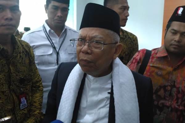 Maruf Amin: Pilpres 2019 Perang Ideologi antara Kelompok Moderat dan Radikal