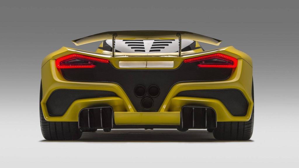 Siêu xe Hennessey Venom F5 mạnh 1.600 mã lực sẽ ra mắt tháng 11