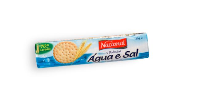 Bolacha de Água e Sal
