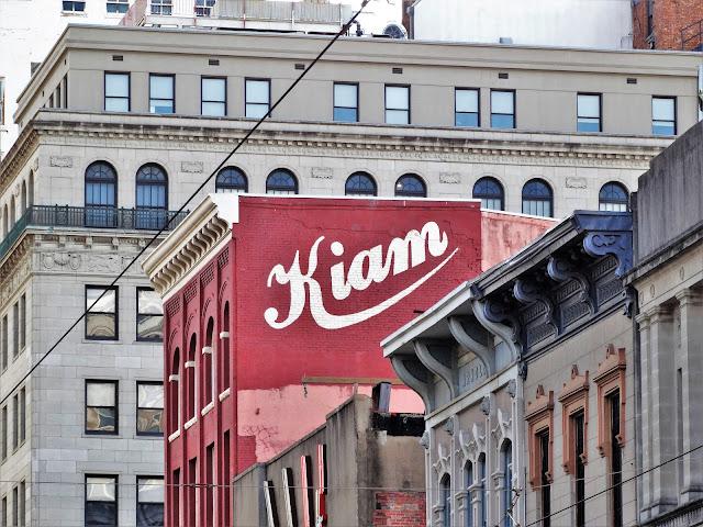 Kiam signage on historic building on Main Street (Feb 2014 photo)