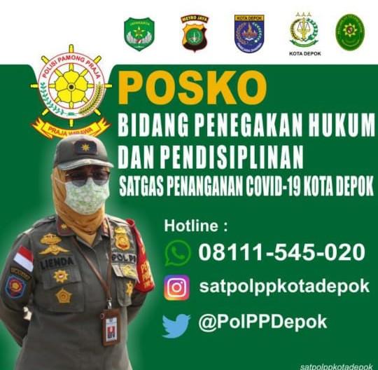 Satpol PP Buka Layanan Pengaduan Masyarakat