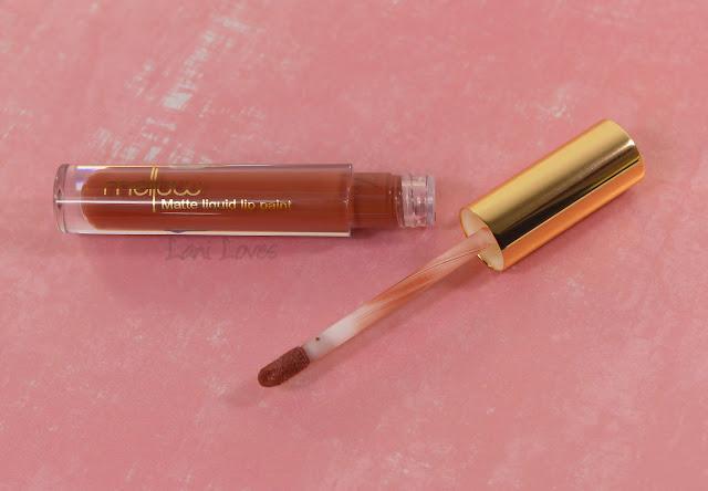 Mellow Cosmetics Matte Liquid Lip Paint - Shanghai swatches & review
