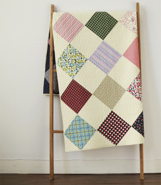 Square Dance Quilt Free Pattern