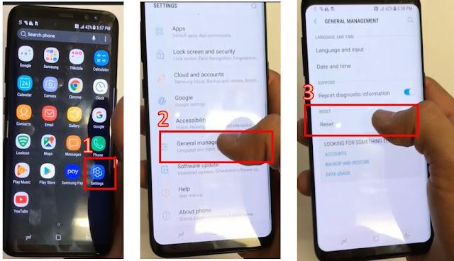 cara reset handphone samsung - 1