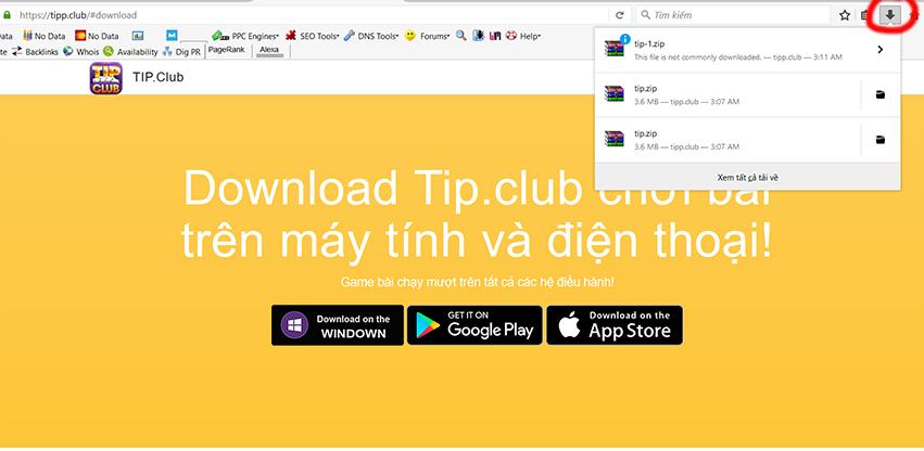 tải app tip club chơi trên máy tính điện thoại 1