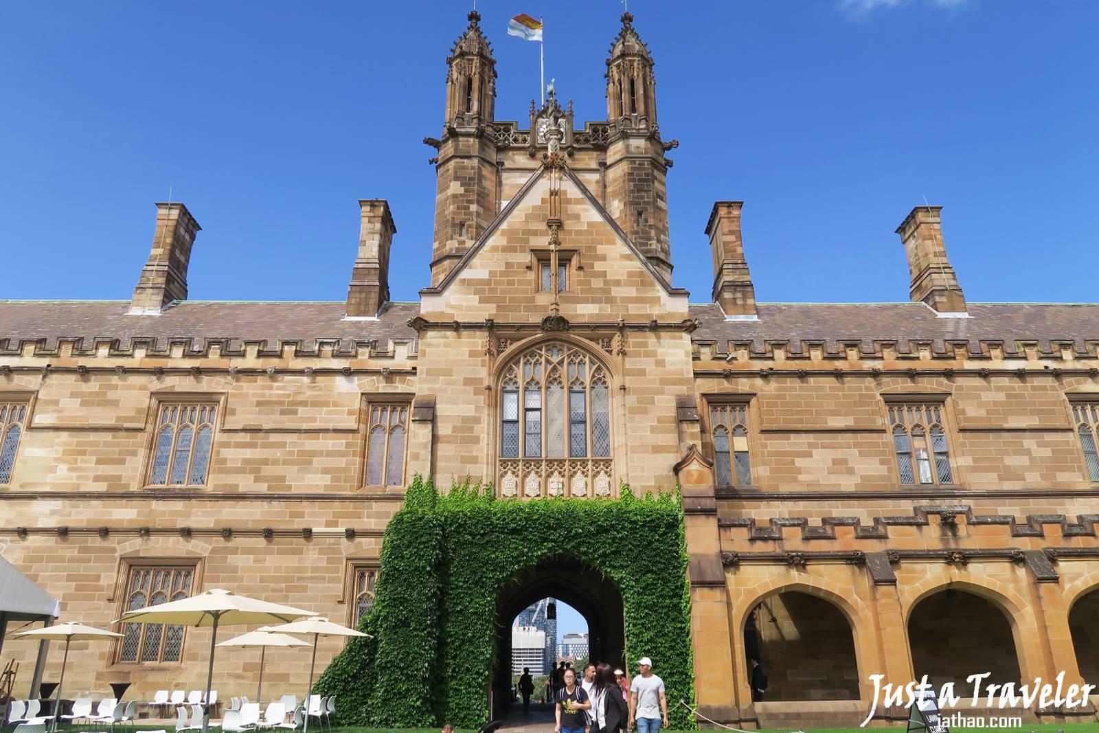 雪梨-雪梨景點-市區-推薦-雪梨必玩景點-雪梨必遊景點-雪梨大學-雪梨旅遊景點-雪梨自由行景點-悉尼景點-澳洲-Sydney-Tourist-Attraction-University-Travel-Australia