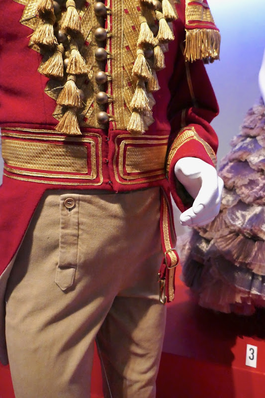Nutcracker and Four Realms Philip costume detail